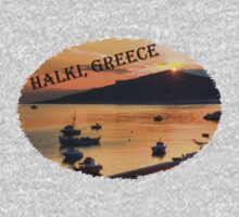 Halki Sunrise (version 2) One Piece - Short Sleeve
