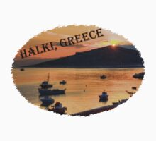 Halki Sunrise (version 2) Kids Clothes