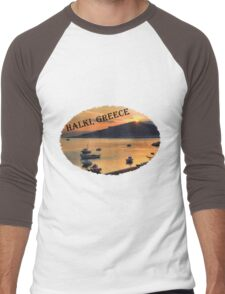 Halki Sunrise (version 2) Men's Baseball ¾ T-Shirt