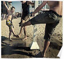 Beach Dances Poster