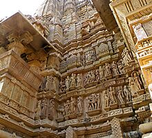 Temples at Khajuraho by Matt Eagles