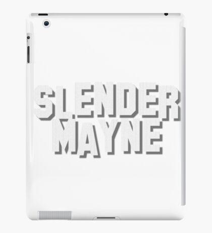 Slender Mayne goes to Hollyweird iPad Case/Skin