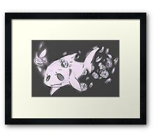 Sharkie Framed Print