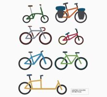 UNITED COLORS OF BICYCLES. Kids Tee
