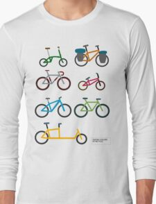 UNITED COLORS OF BICYCLES. Long Sleeve T-Shirt