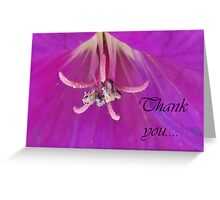 Lilac Notes Greeting Card