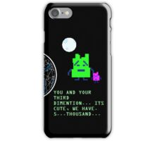 The Mooninites 5,000 Space Dimentions iPhone Case/Skin