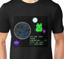 The Mooninites 5,000 Space Dimentions Unisex T-Shirt