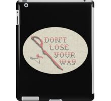 Stitch la Kill - Don't Lose Your Way iPad Case/Skin