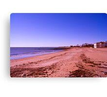 White Sand Beach Canvas Print