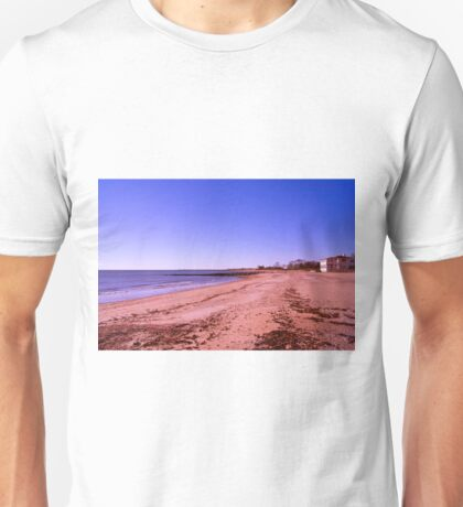 White Sand Beach Unisex T-Shirt