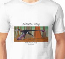 Bambiraptor Feinbergi - Feathers in the Forest Unisex T-Shirt