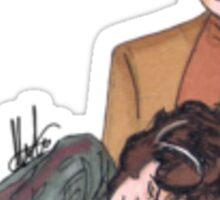 Odo & Lwaxana Sticker