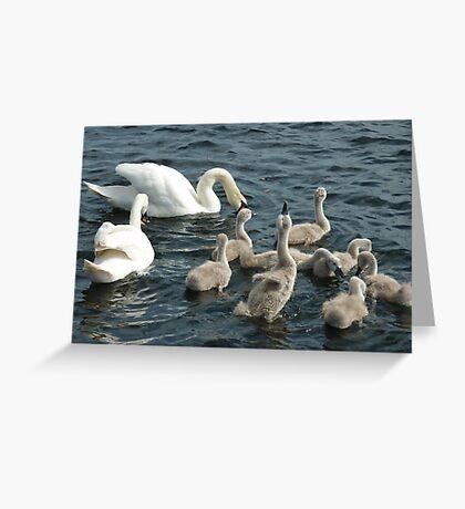 Close Family  Greeting Card