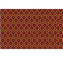 The Shining - Carpet pattern  Photographic Print