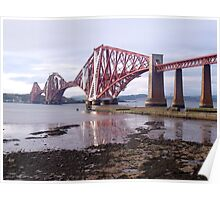 Forth Rail bridge, South Queensferry Edinburgh Poster