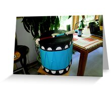 Th Drum Patrick Romero Made for Me Greeting Card