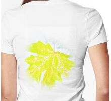 Sycamore in the Sun Womens Fitted T-Shirt