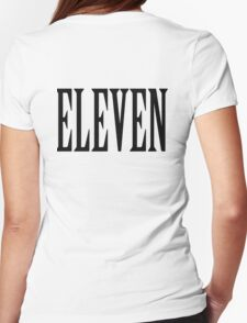 11, Eleven, Eleventh, TEAM SPORTS NUMBER, Competition, BLACK T-Shirt