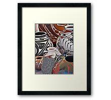 Mata Ortiz Pottery Framed Print