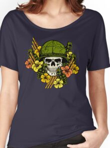 Tropical Print (Military Edition) Women's Relaxed Fit T-Shirt