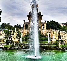Fontaine du parc de La Ciutadella by diamond-tokyo