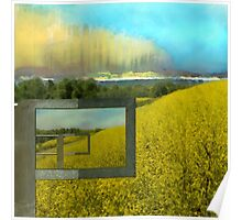 Sun Drenched Fields  Poster