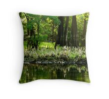 Ghostly Knees Throw Pillow