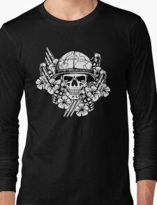 Tropical Print (Military Edition) BW Long Sleeve T-Shirt