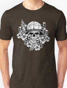 Tropical Print (Military Edition) BW T-Shirt