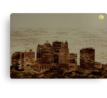 """Gotham City 2010 Canvas Print"
