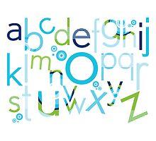 TYPOGRAPHY :: trendy alphabet 2 by Kat Massard
