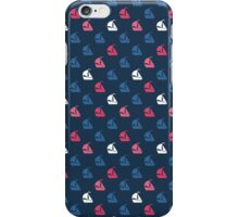 Summer pattern with boat. iPhone Case/Skin
