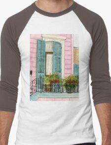 New Orleans Shutters Men's Baseball ¾ T-Shirt