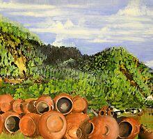 Xinacantan Valley by Heberto   G. Cavazoz