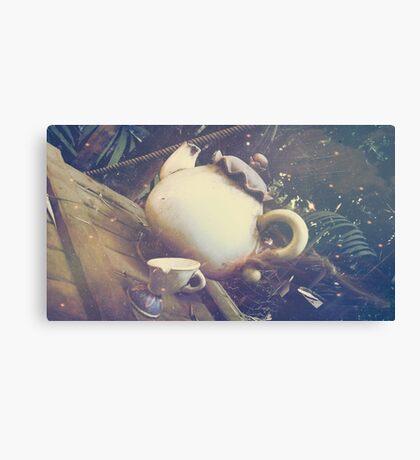 Adventure Tea Canvas Print