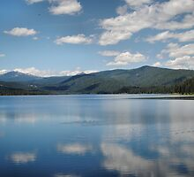 Clouds On Lake Almanor by NancyC