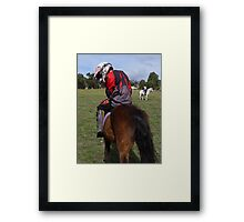 The Wrong Outfit Framed Print