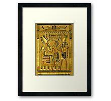 the pharaoh Framed Print