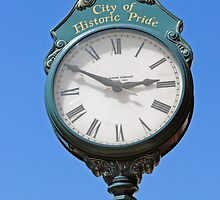 Lockport Town Clock by MarjorieB