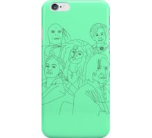 Slytherin squad iPhone Case/Skin