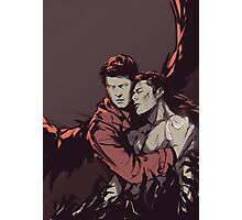 Supernatural - Dean Winchester Is Saved Photographic Print