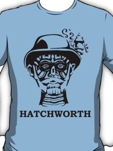 Hatchworth in Black and White T-Shirt