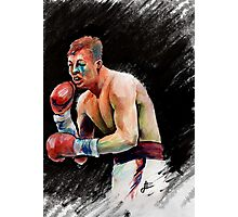 Warrior, Arturo Gatti Photographic Print