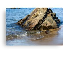 Lapping On The Shore Canvas Print