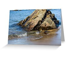 Lapping On The Shore Greeting Card