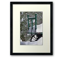 The Green Wagon Framed Print
