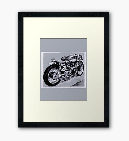 Vincent NERO! Framed Print