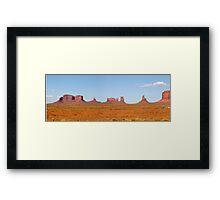 Monument Valley, Arizona, USA Framed Print