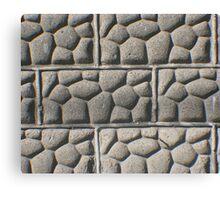 Bricks of Stone Canvas Print